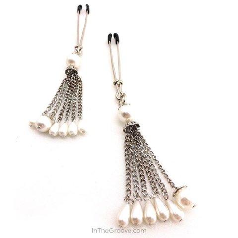 Bijoux de Nip Pearl Tassels