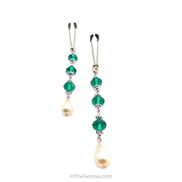 Bijoux de Nip Pearl Turquoise Beads