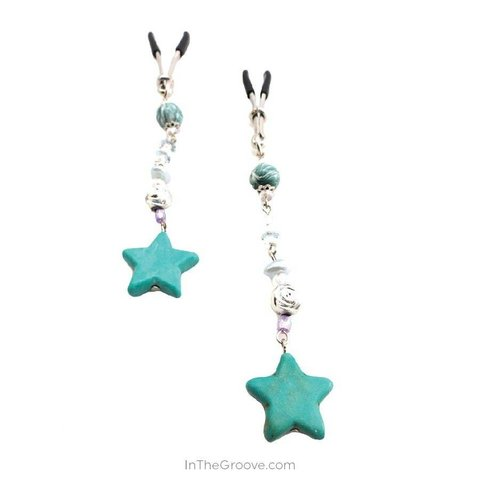 Bijoux de Nip Turquoise Stars