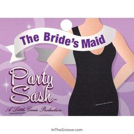 Little Genie Bride`s Maid Party Sash