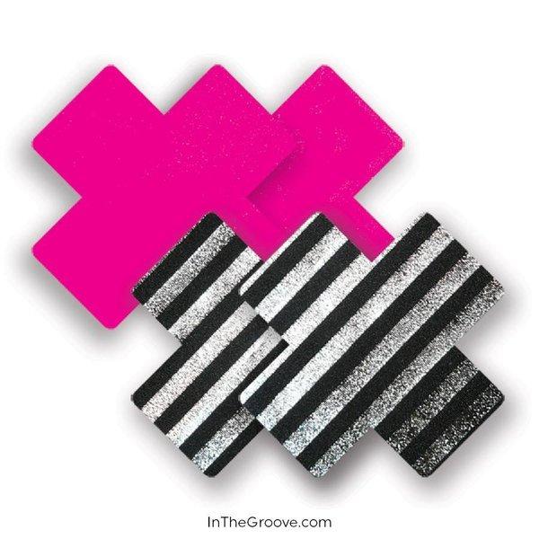 Bristols 6 - Sex Pistol Cross (Pink/Blk/Wht) A/B