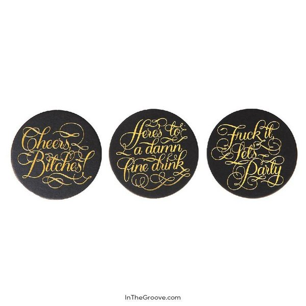 Cheers Bitches Coasters 15pk