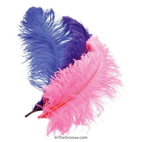 "Deluxe Plumes Large 18-28"" Ostrich Feathers"