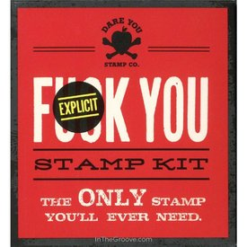 F*ck You Stamp Kit