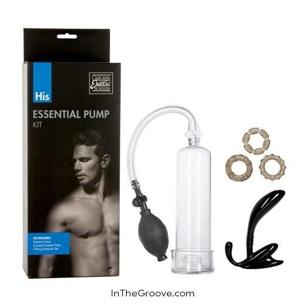 California Exotic His Essential Pump Kit
