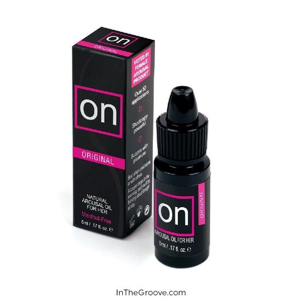 Sensuva ON For Her Arousal Oil 5ml Bottle