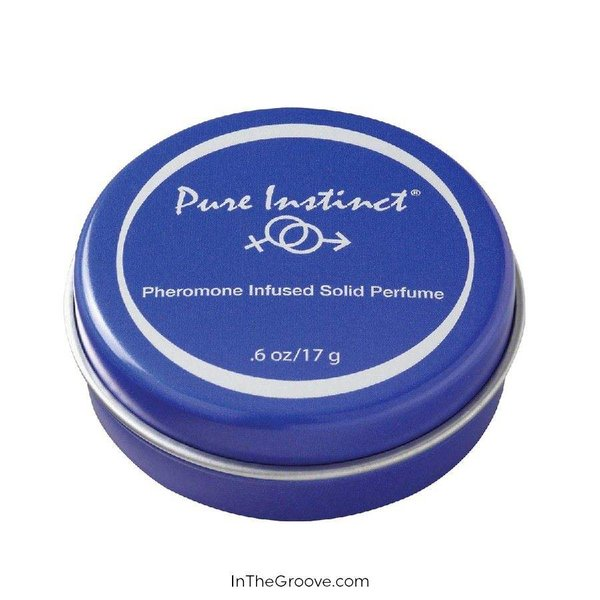 Jelique Pure Instinct Solid Perfume .6oz Tin