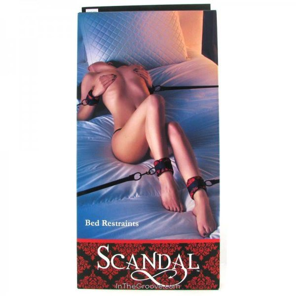 California Exotic Scandal Bed Restraints