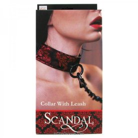 CalExotic Scandal Collar with Leash