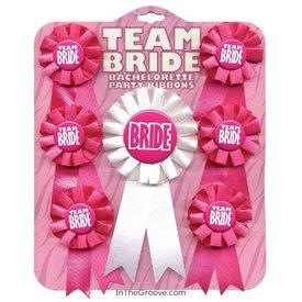 Team Bride Ribbons