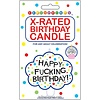X-Rated Birthday Candle Happy F***ing Birthday!
