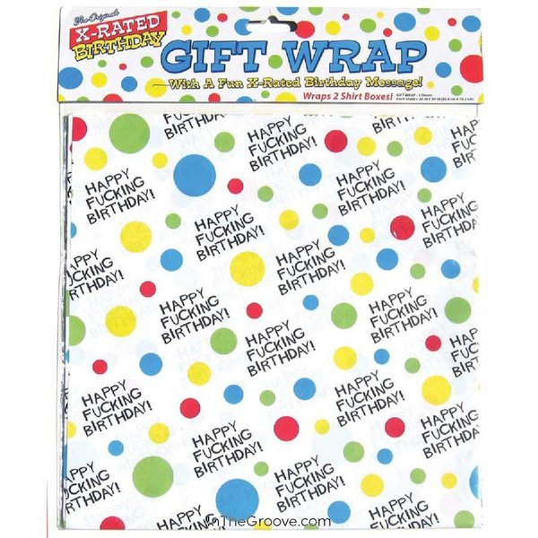 X-Rated Birthday Gift Wrap