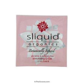 Sliquid Sliquid Organics Stimulating O Gel Pillow single