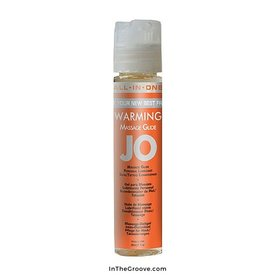 System Jo Jo All in One Massage Glide  Warming - 1 Oz.