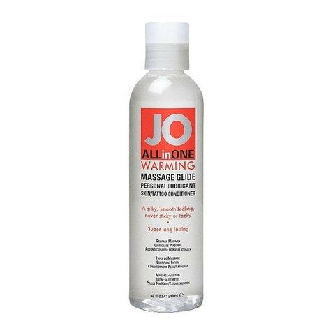 JO 4.5 oz Sensual Massage Warming