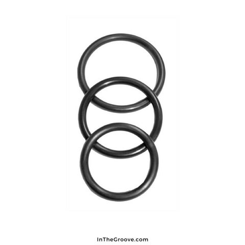 Sex and Mischief Nitrile Cock Ring 3 Pack