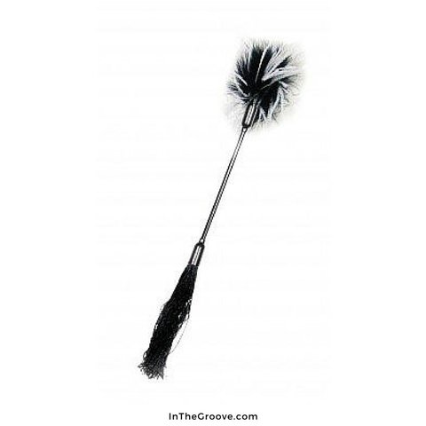 Whipper Tickler - Black/White