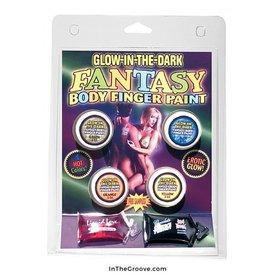 Glow-In-The-Dark Fantasy Body Finger Paint