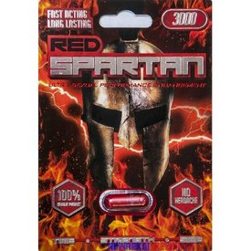 Red Spartan 3000 - 1 Capsule Blister Single
