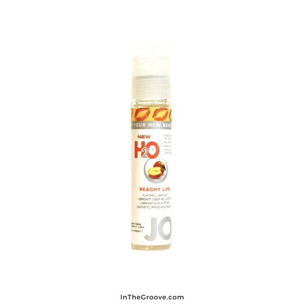 System Jo JO 1 oz H2O Flavored Peachy Lips