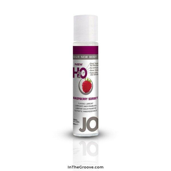 System Jo JO 1 oz H2O Flavored Raspberry Sorbet