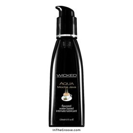 Wicked Sensual Care Wicked Aqua Mocha Java Lubricant 2oz