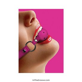Shots Ball Gag - Pink