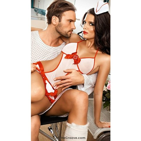 Baci Sexy Nurse Set OS