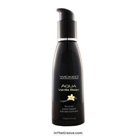 Wicked Aqua Vanilla Bean Lubricant 2oz
