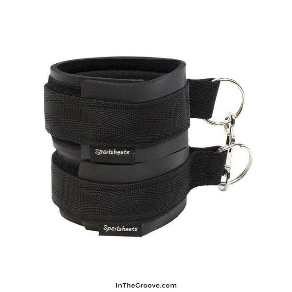 Sportsheets Sports Cuffs Black