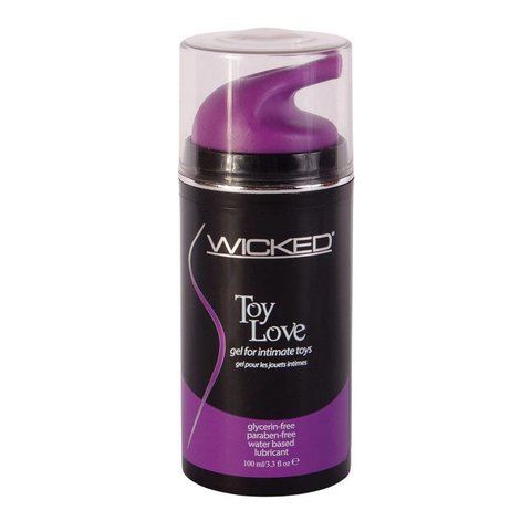 Wicked Sensual Care Toy Love Waterbased Gel - 3.3 oz