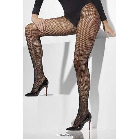 Fishnet Tights Queen Size - Black