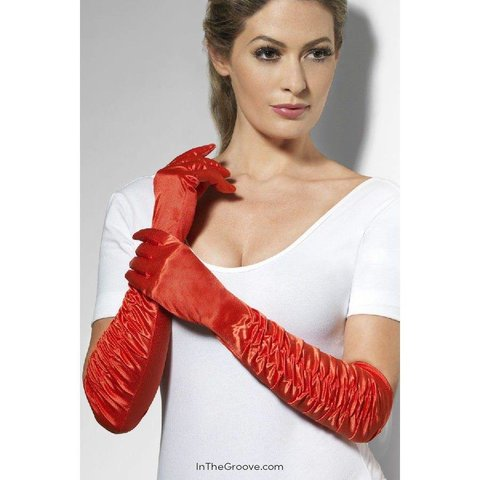 Temptress Gloves - Red