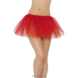 Fever/Smiffys Tutu Underskirt Red - One Size