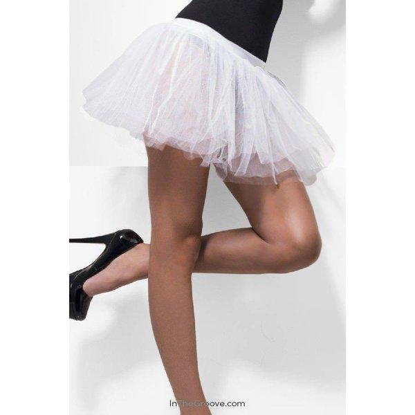 Fever/Smiffys Tutu Underskirt White - One Size