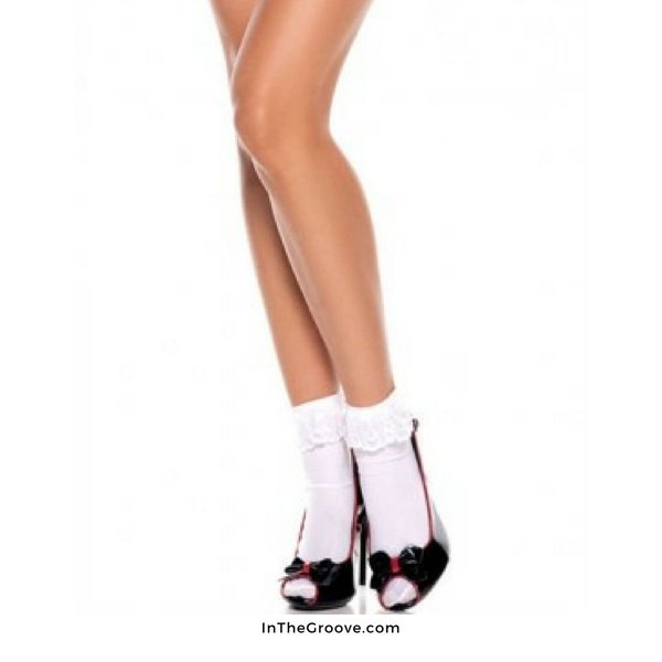 Ankle Socks - White - One Size