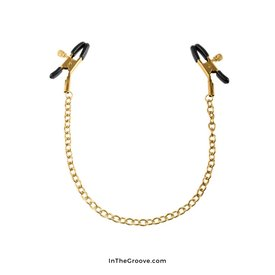 Pipedream Fetish Fantasy Gold Nipple  Clamps