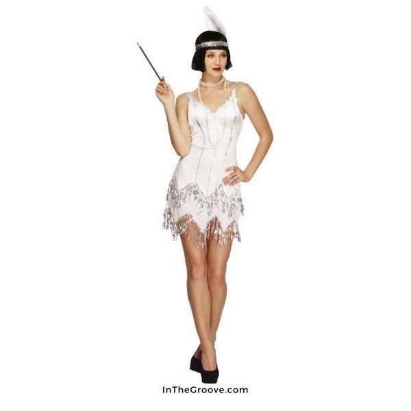 Fever/Smiffys Dazzling Flapper Costume