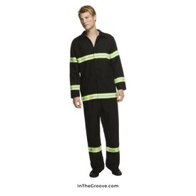 Fever/Smiffys Fireman With Coat Costume