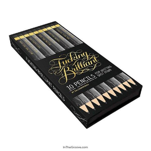 Fucking Brilliant Pencils 10 Pack