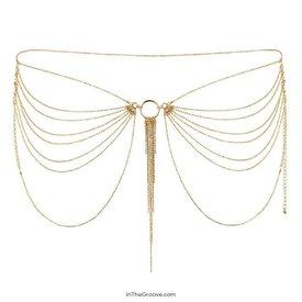 Bijoux Indescrets Magnifique Waist Chain - Silver