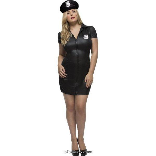 Fever/Smiffys Curvy Cop Costume