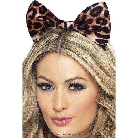 Cheetah Bow Headband