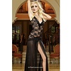 Black Lace Long Gown XLarge