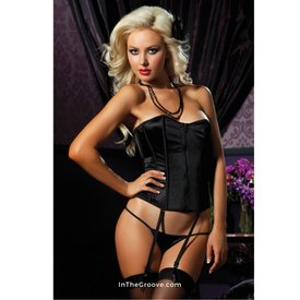 Seven 'til Midnight Perfectly Polished Corset and Thong