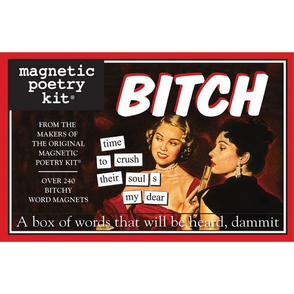 Magnetic Poetry Kit: The BITCH Edition