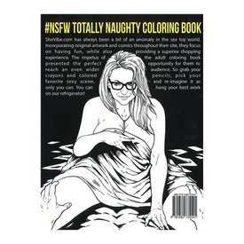 Totally Naughty Coloring Book #NSFW