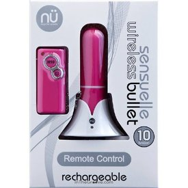 Sensuelle Rechargeable Wireless Remote Vibrating Bullet