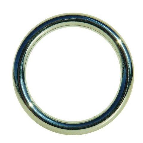 Edge Seamless Metal Cock Ring