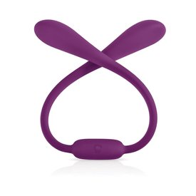 Jimmyjane Ascend 7 Purple Silicone Rechargeable Vibrator